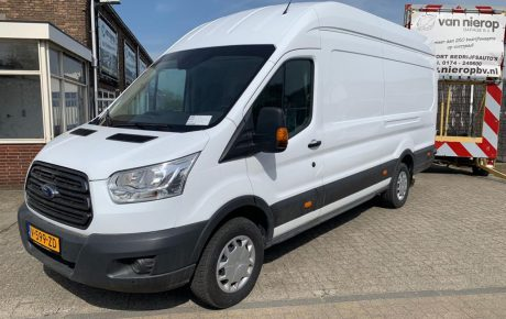 Ons wagenpark Ford Transit